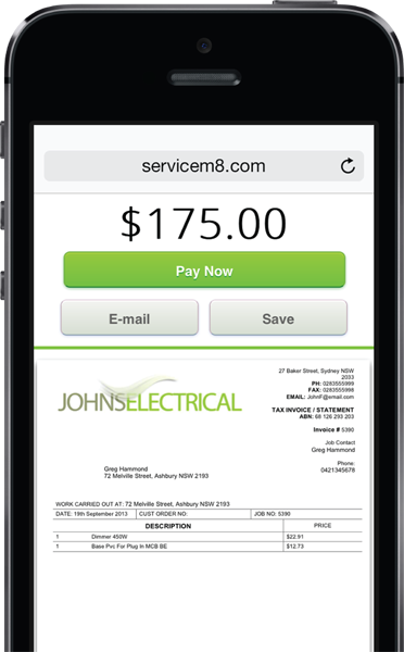 Mobile payments servicem8 for Jewelry television preferred account pay online service